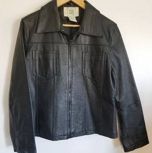 725 Originals leather blazer jacket